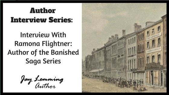 Ramona Flightner Banished Saga blog series image